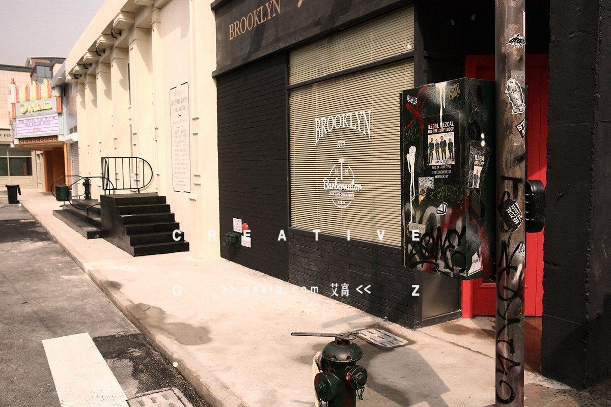 布鲁克林街道